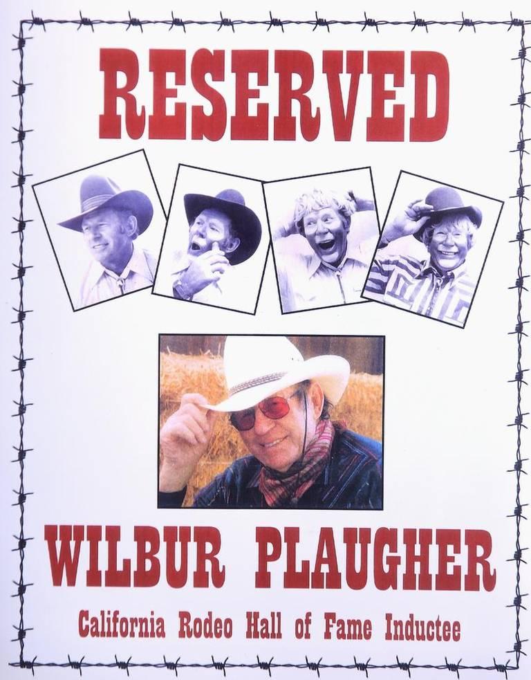 A poster of Wilbur Plaugher