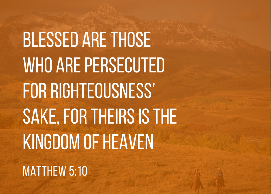 The Beatitudes Part 8